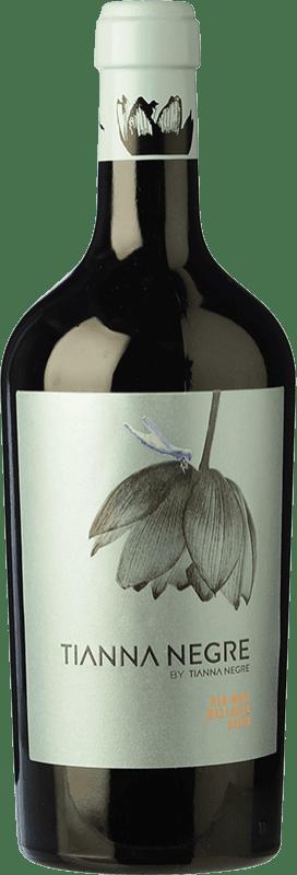 34,95 € Free Shipping | Red wine Tianna Negre Negre D.O. Binissalem Balearic Islands Spain Bottle 75 cl