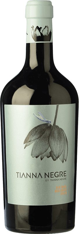 34,95 € Envío gratis | Vino tinto Tianna Negre Negre D.O. Binissalem Islas Baleares España Botella 75 cl