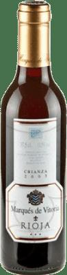 4,95 € Envoi gratuit | Vin rouge Marqués de Vitoria Crianza D.O.Ca. Rioja La Rioja Espagne Tempranillo Demi Bouteille 37 cl