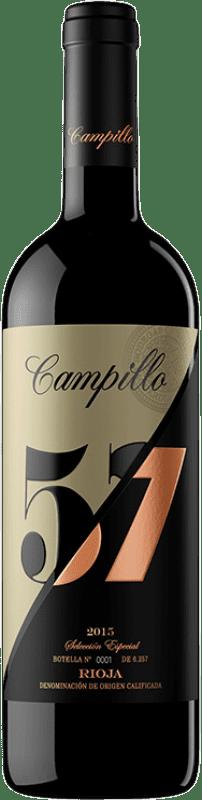 26,95 € Envío gratis | Vino tinto Campillo 57 Gran Reserva D.O.Ca. Rioja La Rioja España Tempranillo, Graciano Botella 75 cl