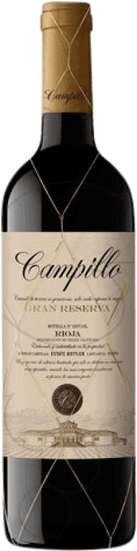 22,95 € 免费送货   红酒 Campillo Gran Reserva D.O.Ca. Rioja 拉里奥哈 西班牙 Tempranillo 瓶子 75 cl