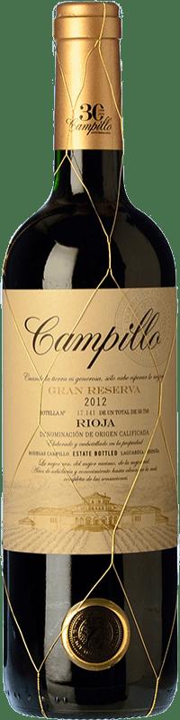 22,95 € Envoi gratuit   Vin rouge Campillo Gran Reserva D.O.Ca. Rioja La Rioja Espagne Tempranillo Bouteille 75 cl