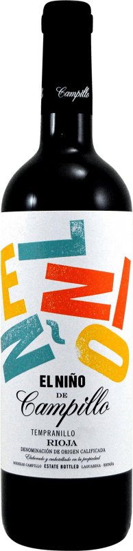 6,95 € | Red wine Campillo El Niño D.O.Ca. Rioja The Rioja Spain Tempranillo, Graciano Bottle 75 cl