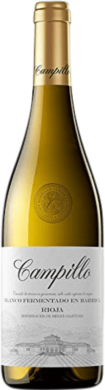 7,95 € | White wine Campillo Fermentat Barrica Crianza D.O.Ca. Rioja The Rioja Spain Macabeo Bottle 75 cl