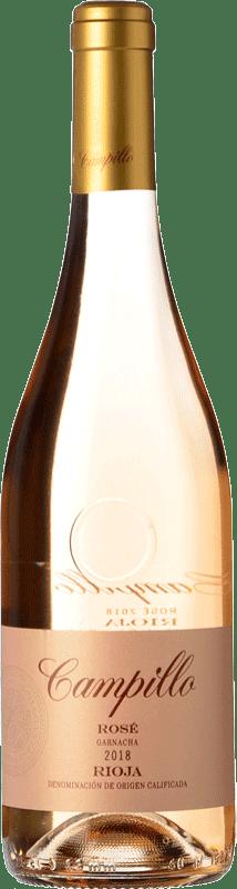 5,95 € Envío gratis | Vino rosado Campillo Rosat Joven D.O.Ca. Rioja La Rioja España Tempranillo Botella 75 cl