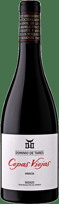 28,95 € Envío gratis | Vino tinto Dominio de Tares Cepas Viejas Crianza D.O. Bierzo Castilla y León España Mencía Botella Mágnum 1,5 L