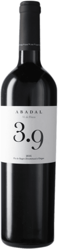 23,95 € Free Shipping | Red wine Masies d'Avinyó Abadal 3.9 Reserva D.O. Pla de Bages Catalonia Spain Syrah, Cabernet Sauvignon Bottle 75 cl