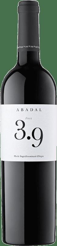 23,95 € Envío gratis | Vino tinto Masies d'Avinyó Abadal 3.9 Reserva D.O. Pla de Bages Cataluña España Syrah, Cabernet Sauvignon Botella 75 cl