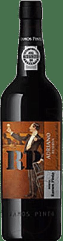 16,95 € Free Shipping | Fortified wine Ramos Pinto Adriano Oporto Reserva I.G. Porto Portugal Tempranillo, Touriga Franca, Touriga Nacional, Tinta Amarela, Tinta Cão, Tinta Barroca Bottle 75 cl