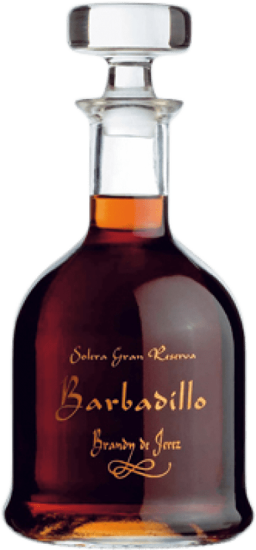 52,95 € Free Shipping | Brandy Barbadillo Gran Reserva Spain Bottle 70 cl