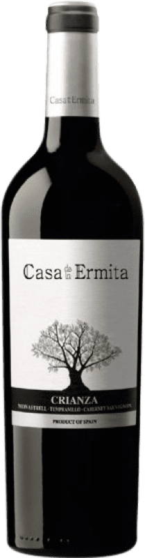 14,95 € Free Shipping | Red wine Casa de la Ermita Crianza D.O. Jumilla Levante Spain Tempranillo, Cabernet Sauvignon, Monastrell Magnum Bottle 1,5 L