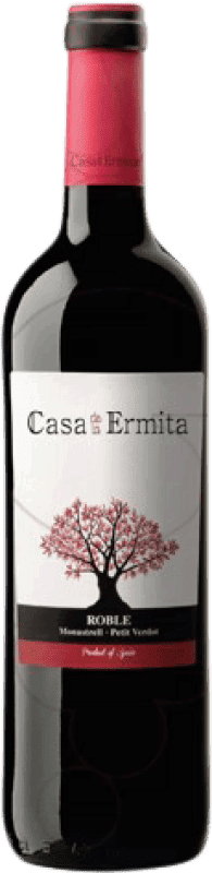 5,95 € Free Shipping | Red wine Casa de la Ermita Roble D.O. Jumilla Levante Spain Monastrell, Petit Verdot Bottle 75 cl