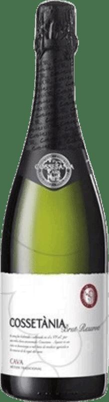 6,95 € 免费送货 | 白起泡酒 Castell d'Or Cossetània 香槟 Reserva D.O. Cava 加泰罗尼亚 西班牙 Macabeo, Xarel·lo, Parellada 瓶子 75 cl