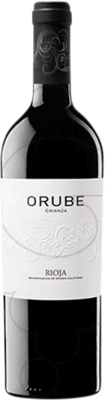 14,95 € 免费送货   红酒 Solar Viejo Orube Crianza D.O.Ca. Rioja 拉里奥哈 西班牙 Tempranillo, Grenache, Graciano 瓶子 Magnum 1,5 L