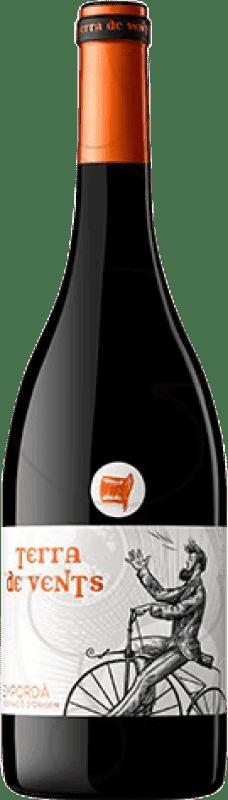 12,95 € | Red wine Oliveda Terra de Vents Crianza D.O. Empordà Catalonia Spain Cabernet Sauvignon, Mazuelo, Carignan Bottle 75 cl