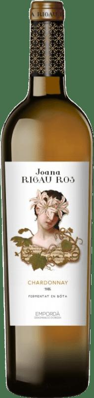 9,95 € Envoi gratuit | Vin blanc Oliveda Joana Rigau Ros Fermentado Barrica Crianza D.O. Empordà Catalogne Espagne Chardonnay Bouteille 75 cl