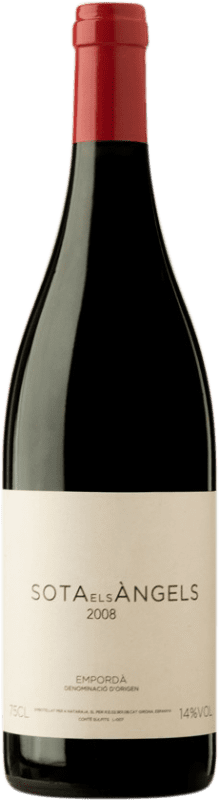 42,95 € Free Shipping | Red wine Sota els Àngels D.O. Empordà Catalonia Spain Merlot, Syrah, Cabernet Sauvignon, Mazuelo, Carignan, Carmenère Bottle 75 cl