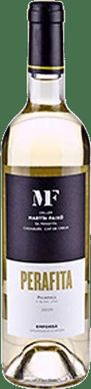 12,95 € 免费送货 | 白酒 Martín Faixó Perafita Joven D.O. Empordà 加泰罗尼亚 西班牙 Picapoll 瓶子 75 cl