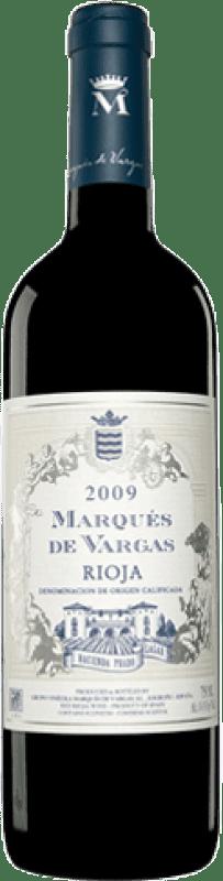 39,95 € Envío gratis | Vino tinto Marqués de Vargas Reserva D.O.Ca. Rioja La Rioja España Tempranillo, Garnacha, Mazuelo, Cariñena Botella Mágnum 1,5 L