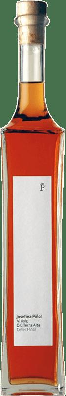 18,95 € Envío gratis | Vino generoso Piñol Josefina Dulce D.O. Terra Alta Cataluña España Garnacha Blanca, Garnacha Gris, Garnacha Roja Botella 75 cl