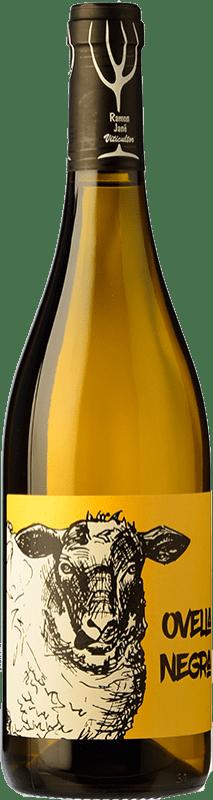 14,95 € Envoi gratuit | Vin blanc Mas Candí Ovella Negra Joven D.O. Penedès Catalogne Espagne Grenache Blanc Bouteille 75 cl