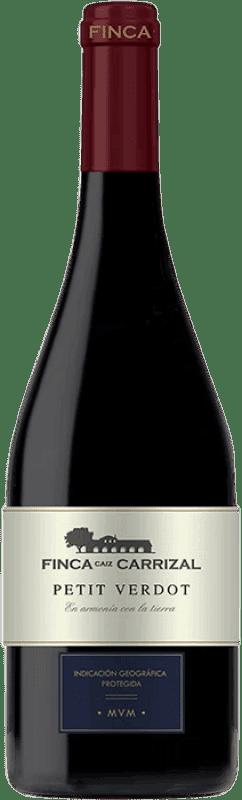 26,95 € Envoi gratuit | Vin rouge Dehesa del Carrizal Finca Caiz Crianza D.O.P. Vino de Pago Dehesa del Carrizal Castilla la Mancha y Madrid Espagne Petit Verdot Bouteille Magnum 1,5 L