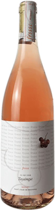 8,95 € | Rosé wine Tayaimgut Frsssc Joven Catalonia Spain Merlot Bottle 75 cl