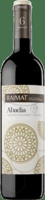 4,95 € Free Shipping | Red wine Raimat Clos Abadia Crianza D.O. Costers del Segre Catalonia Spain Tempranillo, Cabernet Sauvignon Half Bottle 50 cl