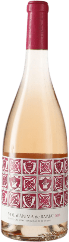 8,95 € | Rosé wine Raimat Vol d'Ànima Joven D.O. Costers del Segre Catalonia Spain Pinot Black, Chardonnay Bottle 75 cl