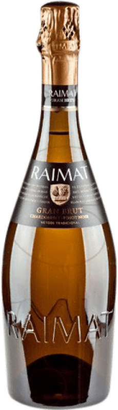 24,95 €   White sparkling Raimat Gran Brut Brut Gran Reserva D.O. Costers del Segre Catalonia Spain Pinot Black, Chardonnay Bottle 75 cl