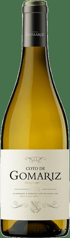 14,95 € Free Shipping | White wine Coto de Gomariz Dende o Século Crianza D.O. Ribeiro Galicia Spain Godello, Loureiro, Treixadura, Albariño Bottle 75 cl