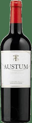 8,95 € Free Shipping | Red wine Tionio Austum D.O. Ribera del Duero Castilla y León Spain Tempranillo Half Bottle 50 cl