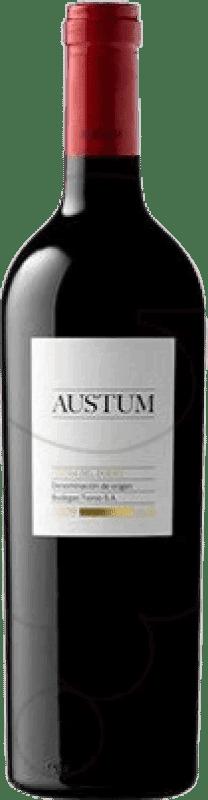 10,95 € Free Shipping | Red wine Tionio Austum Crianza D.O. Ribera del Duero Castilla y León Spain Tempranillo Bottle 75 cl