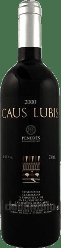 49,95 € Free Shipping | Red wine Can Ràfols Gran Caus Lubis D.O. Penedès Catalonia Spain Merlot Bottle 75 cl