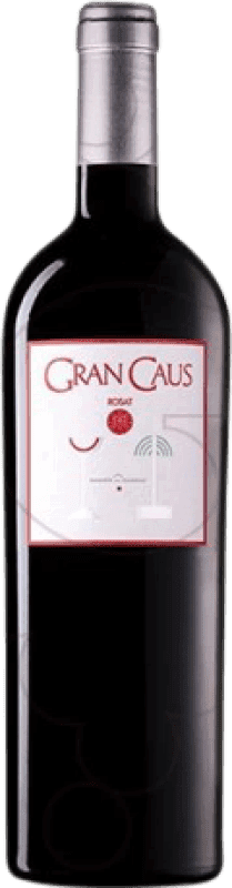 23,95 € | Rosé wine Can Ràfols Gran Caus Especial Crianza D.O. Penedès Catalonia Spain Merlot Bottle 75 cl