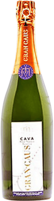 17,95 € Free Shipping | White sparkling Can Ràfols Gran Caus Extra Brut Reserva D.O. Cava Catalonia Spain Macabeo, Xarel·lo, Chardonnay Bottle 75 cl