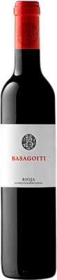 7,95 € | Red wine Basagoiti Crianza D.O.Ca. Rioja The Rioja Spain Tempranillo Half Bottle 50 cl