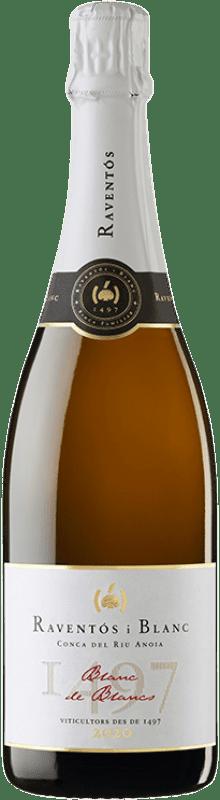 13,95 € Free Shipping   White sparkling Raventós i Blanc Blanc de Blancs Brut Reserva Catalonia Spain Macabeo, Xarel·lo, Chardonnay, Parellada Bottle 75 cl