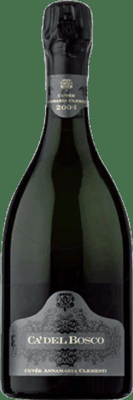138,95 € Free Shipping | White sparkling Ca' del Bosco Cuvée Annamaria Clementi Brut Gran Reserva 2006 Otras D.O.C. Italia Italy Pinot Black, Chardonnay, Pinot White Bottle 75 cl