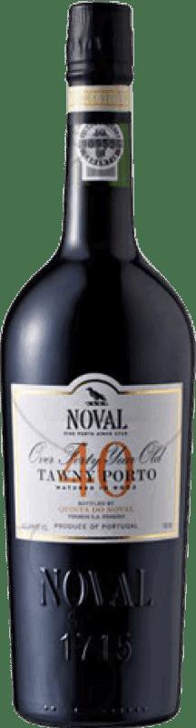 135,95 € Free Shipping | Fortified wine Quinta do Noval 40 Años Oporto I.G. Porto Portugal Tempranillo, Touriga Franca, Touriga Nacional, Tinta Amarela, Tinta Cão, Tinta Barroca Bottle 75 cl