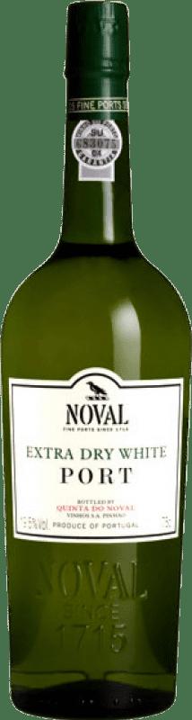16,95 € Free Shipping | Fortified wine Quinta do Noval Blanco Oporto Dry I.G. Porto Portugal Malvasía, Godello, Rabigato Bottle 75 cl