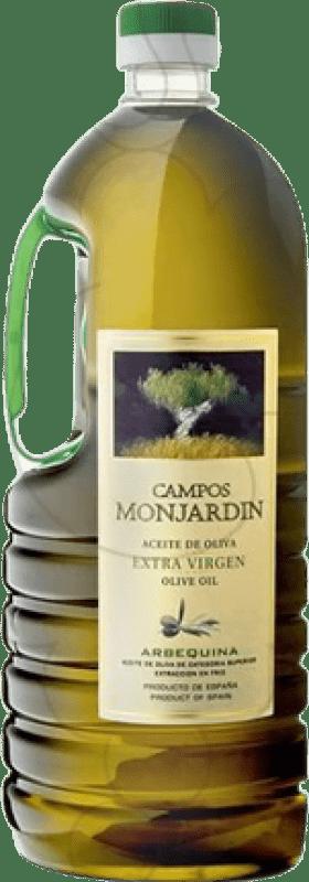 12,95 € Envío gratis | Aceite Castillo de Monjardín Campos de Monjardín España Botella 2 L