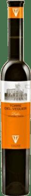 17,95 € Free Shipping | Fortified wine Torre del Veguer Verema Tardana Muscat D.O. Penedès Catalonia Spain Muscatel Half Bottle 37 cl