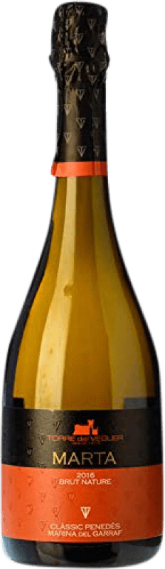 16,95 € Free Shipping | White sparkling Torre del Veguer Marta Sweet Reserva D.O. Penedès Catalonia Spain Muscatel Bottle 75 cl