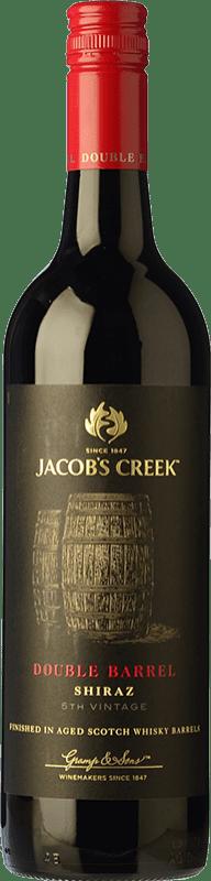 14,95 € Free Shipping | Red wine Jacobs Creek Double Barrel Crianza Australia Syrah Bottle 75 cl