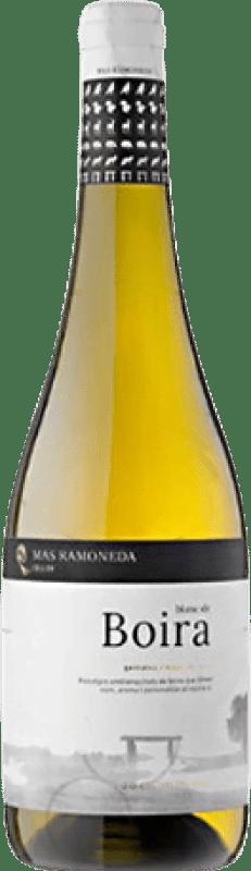6,95 € Free Shipping | White wine Mas Ramoneda Blanc de Boira Joven D.O. Costers del Segre Catalonia Spain Grenache Bottle 75 cl