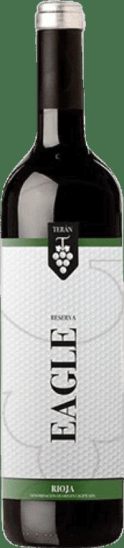 11,95 € Free Shipping | Red wine Marqués de Terán Eagle Reserva D.O.Ca. Rioja The Rioja Spain Tempranillo, Grenache, Mazuelo, Carignan Bottle 75 cl