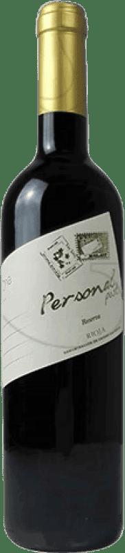 9,95 € Free Shipping | Red wine Marqués de Terán Personal Post Reserva D.O.Ca. Rioja The Rioja Spain Tempranillo Bottle 75 cl