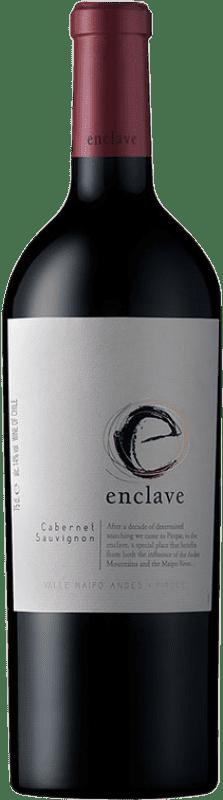 57,95 € | Red wine Viña Ventisquero Enclave Chile Cabernet Sauvignon, Cabernet Franc, Petit Verdot, Carmenère Bottle 75 cl