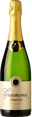 21,95 € Free Shipping | White sparkling Gramona Imperial Brut Gran Reserva D.O. Cava Catalonia Spain Macabeo, Xarel·lo, Chardonnay Bottle 75 cl